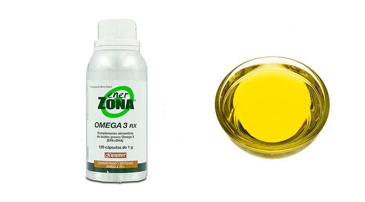 Enerzona Omega 3 RX 240 cápsulas y 120 cápsulas
