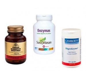 Marcas de enzimas digestivas naturales