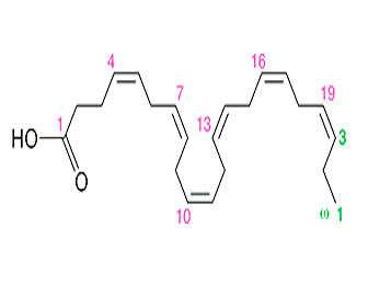 epa y dha estructura química