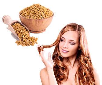 fenogreco para fortalecer el pelo