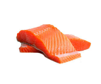 filetes de salmon
