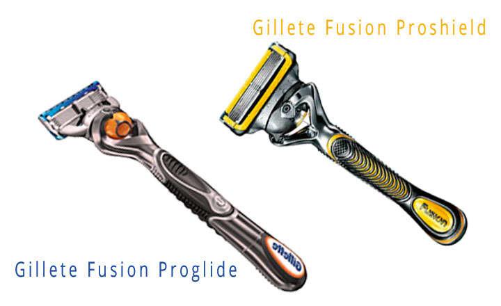 gillette fusion proglide vs proshield
