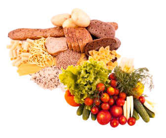 glucógeno en alimentos