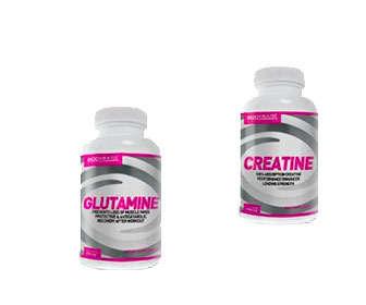 glutamina creatina capsulas