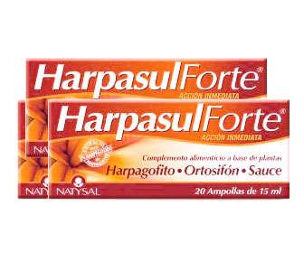 harpasul ampollas, indicaciones de uso y composicion