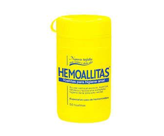 hemoal toallitas o hemotoallitas