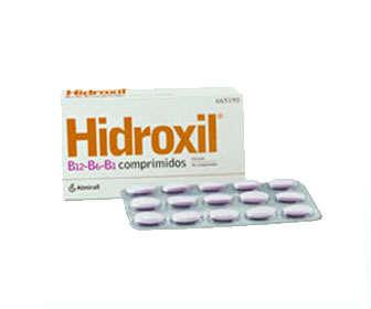 hidroxil vitaminas b1 b6 b12