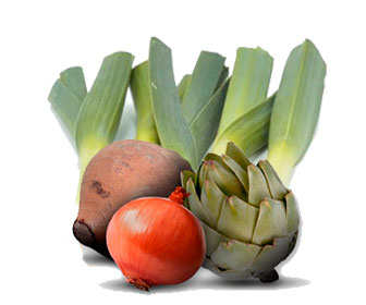 alimentos ricos en inulina