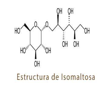 isomaltosa estructura