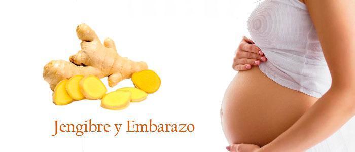 Jengibre para embarazadas y náuseas