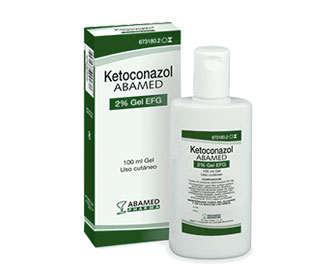ketoconazol gel