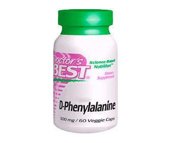 Cápsulas de L-fenilalanina