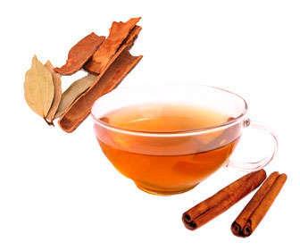 laurel con canela en té o infusión
