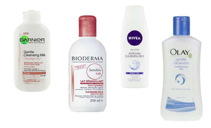 Marcas de leches limpiadoras para pieles grasas, mixtas y secas