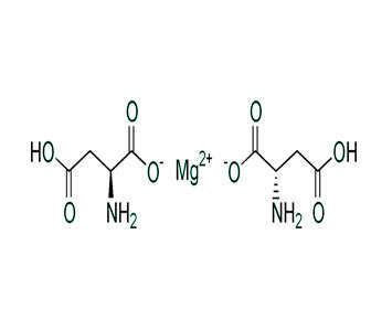 magnesio aspartato estructura quimica