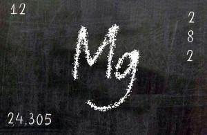 magnesio simbolo quimico