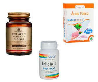 Marcas de ácido fólico
