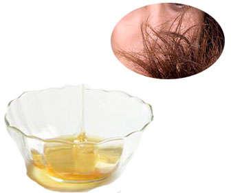 mascarilla de miel para el cabello maltratado