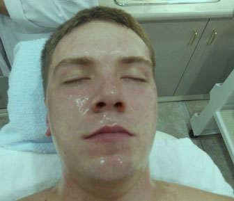 mascarilla facial de aloe vera
