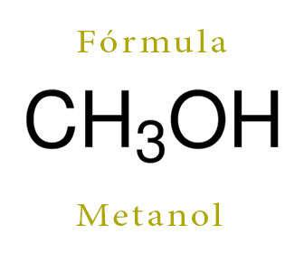 metanol formula