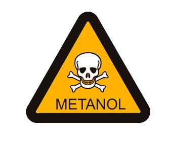 Toxicidad del metanol y síntomas de la intoxicación