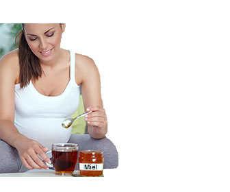tomar miel con propoleo y jalea real durante el embarazo