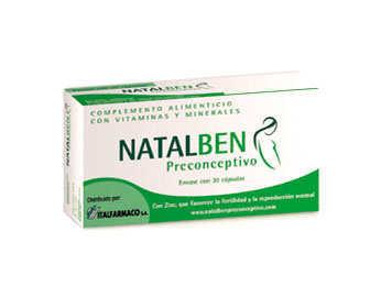 natalben preconceptivo para antes del embarazo