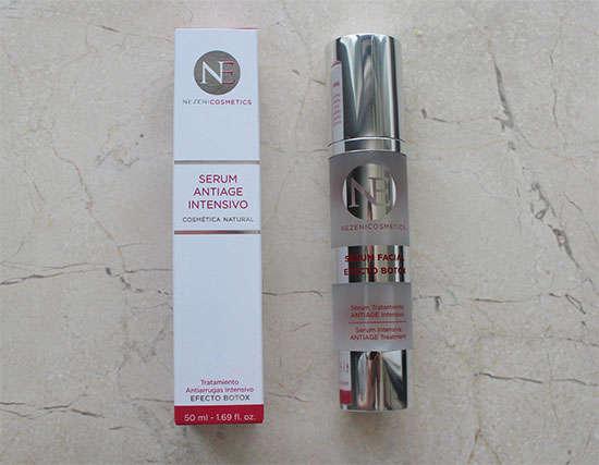 Serum Antiage efecto Botox de Nezeni