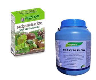 Usos del oxicloruro de cobre fungicida