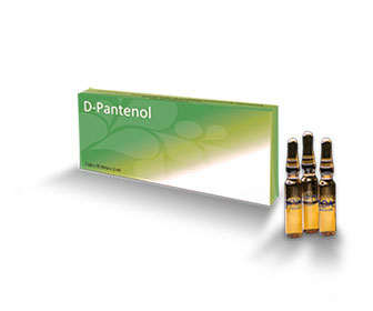 usar pantenol para el pelo