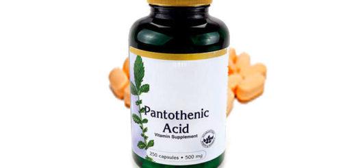 ácido pantoténico función