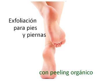 peeling de pies y piernas