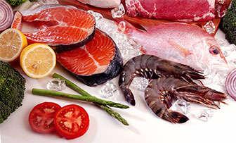pescados marisco hierro