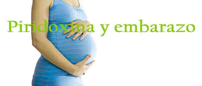 Piridoxina y embarazo