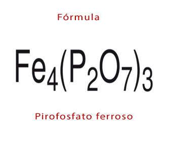 pirofosfato ferrico formula quimica