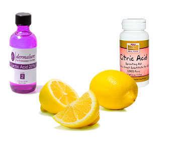 piruvato, ácido lactico y citrico
