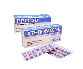 Policosanol cubano, Ateromixol o PPG