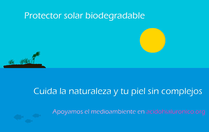 protector solar biodegradable