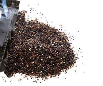 Quinoa negra, diferencias y valores nutricionales