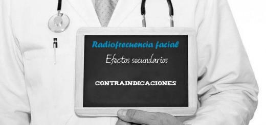 radiofrecuencia facial efectos secundarios