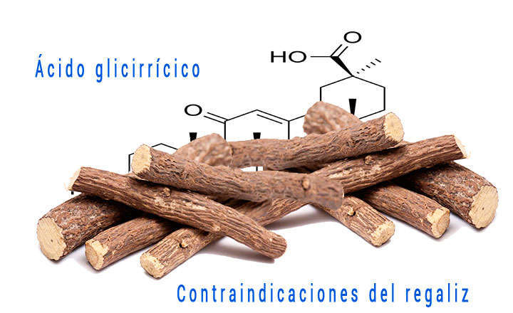 Regaliz beneficios y contraindicaciones