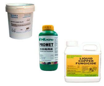 Usos del sulfato de cobre como fungicida