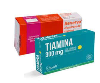 Nombres comerciales de Tiamina