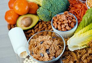 Tomar alimentos con ácido fólico