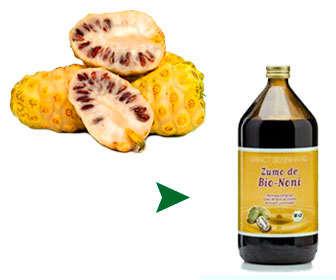 Diferencias, ventajas e inconvenientes de tomar zumo de noni o fruta fresca