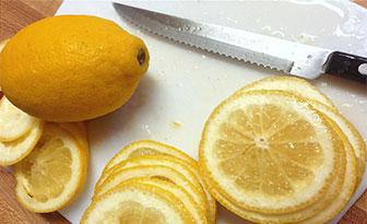 tonico de limon astringente