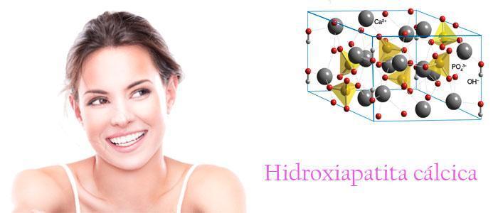 Tratamiento antiarrugas facial con hidroxiapatita cálcica