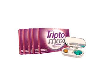 Triptomax con triptófano y vitaminas