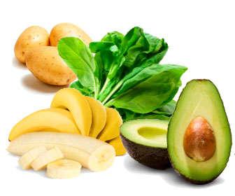 frutas y verduras con ácido hialurónico