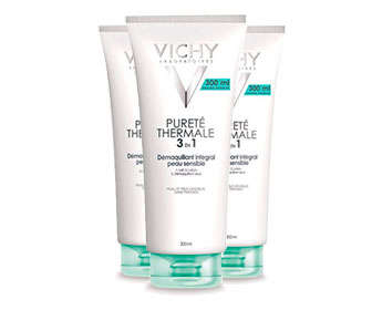 vichy pureté thermale desmaquillante integral 3 en 1 300ml